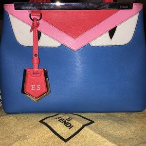 Fendi Monster Purse Authentic EUC